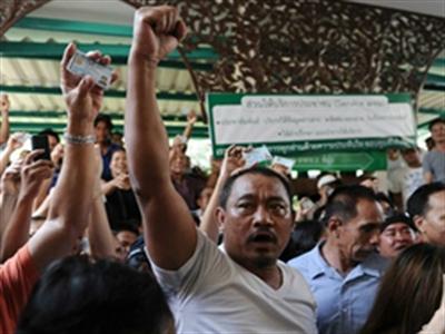 Thái Lan kết thúc bầu cử trong căng thẳng