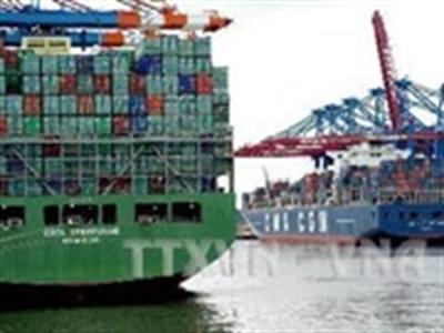 Đức: Xuất khẩu giảm, thặng dư thương mại cao kỷ lục