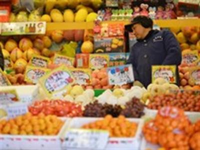 CPI tháng Một của Trung Quốc thấp hơn mục tiêu