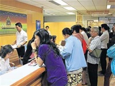 Thái Lan: Ồ ạt rút tiền khỏi ngân hàng quản lý trợ cấp giá gạo