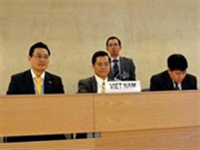 Việt Nam khẳng định mạnh mẽ cam kết về quyền con người