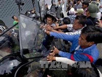 Thái Lan: Xả súng khi cảnh sát và thủ lĩnh biểu tình đàm phán