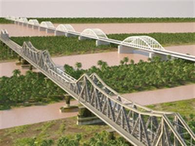 Dời 9 nhịp cầu Long Biên để giảm giải phóng mặt bằng