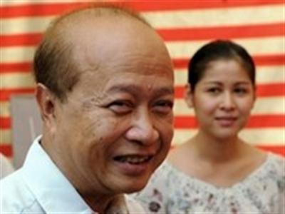 Thái tử Campuchia Ranariddh tuyên bố trở lại chính trường