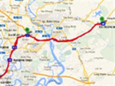 Sẽ có tuyến đường sắt Trảng Bom - Sài Gòn