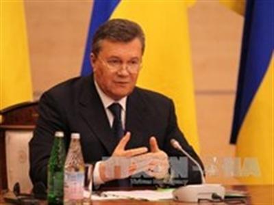 Thụy Sĩ đóng băng tài khoản của cha con ông Yanukovych