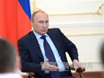 Putin hy vọng không có Chiến tranh Lạnh do vấn đề Ukraine