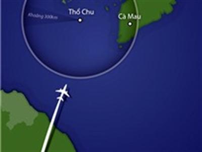 Tàu Hải quân đã có mặt ở địa điểm nghi có máy bay của Malaysia bị nạn