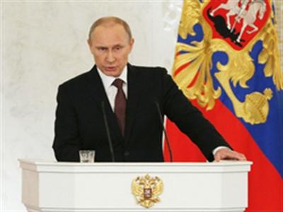 Putin chính thức ký hiệp ước sáp nhập Crimea vào Nga