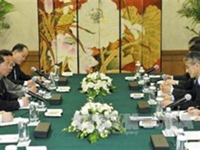 Nhật Bản-Triều Tiên nối lại đàm phán liên chính phủ