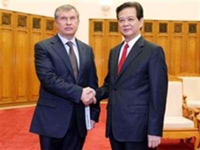 Năng lượng là một trụ cột hợp tác trong quan hệ Việt-Nga