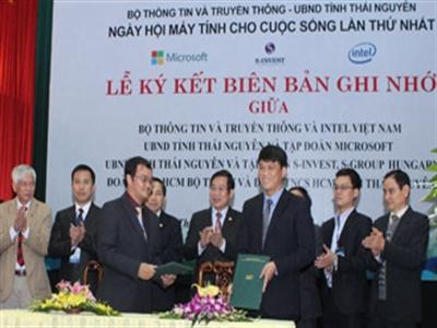 Intel hợp tác với Bộ Thông tin và Truyền thông phát triển ứng dụng công nghệ thông tin tại Việt Nam