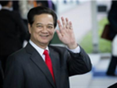 Thủ tướng Nguyễn Tấn Dũng ở Hà Lan
