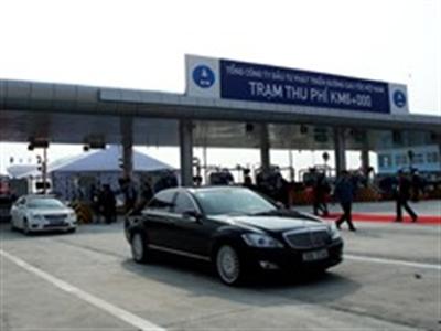 Thông xe tuyến cuối cùng trên cao tốc Nội Bài-Lào Cai