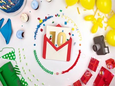 Gmail ra đời cách đây 10 năm như một trò đùa