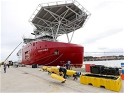 Tàu Trung Quốc bắt được tín hiệu nghi của hộp đen MH370