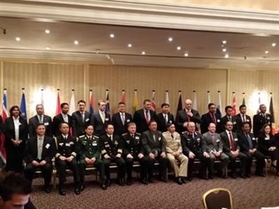 Việt Nam dự Hội nghị đối thoại quốc phòng ASEAN-EU