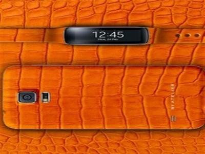 Galaxy S5 da cá sấu sắp bán tại Việt Nam
