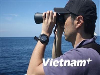Phóng viên quốc tế chứng kiến hành động phi pháp của Trung Quốc