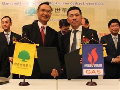 Ký hợp đồng 280 triệu USD tài trợ cho dự án Nam Côn Sơn