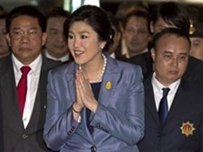 Chính quyền quân sự Thái cho phép bà Yingluck ra nước ngoài