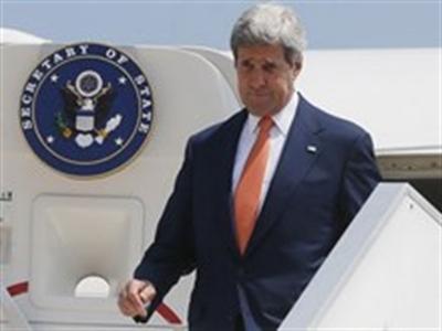 Ngoại trưởng Mỹ tới Israel tìm kiếm thỏa thuận ngừng bắn