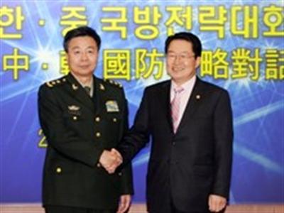 Trung-Hàn tổ chức Đối thoại chiến lược quốc phòng lần 4