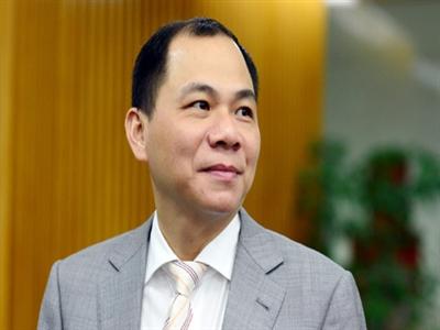 Ông Phạm Nhật Vượng có thêm hàng chục triệu USD cổ phiếu