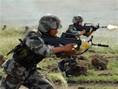 Binh sỹ các nước khối SCO rầm rộ tới Trung Quốc tập trận