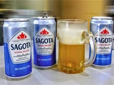 Ra mắt bia không cồn đầu tiên của Việt Nam