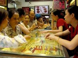 Giá vàng giảm mạnh về 36,36 triệu đồng/lượng