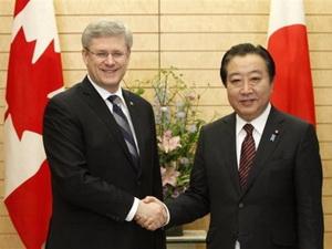 Canada và Nhật Bản thống nhất sẽ đàm phán FTA