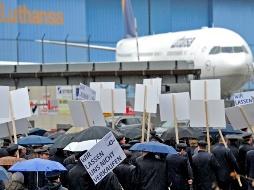 Hàng không Đức rúng động do đình công