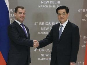 Nga-Trung Quốc củng cố quan hệ đối tác chiến lược