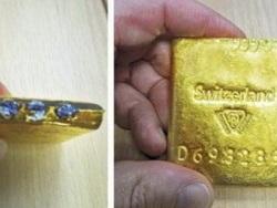 Anh phát hiện các thỏi vàng của Thụy Sĩ bị làm giả