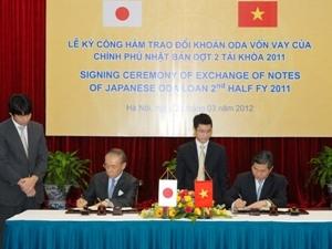 Nhật Bản viện trợ 1,64 tỷ USD vốn ODA cho Việt Nam