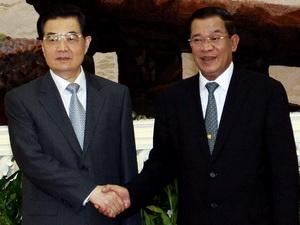Campuchia-Trung Quốc tăng cường đối tác chiến lược