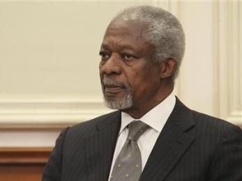 Nga là nhân tố quyết định trong kế hoạch hòa bình cho Syria của Kofi Annan