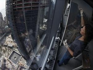 Tòa cao ốc thay thế tháp đôi WTC đạt tầng 100