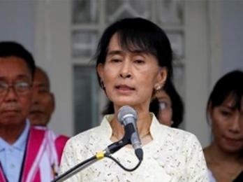 Bà Suu Kyi đảm nhiệm vị trí tại Nghị viện Myanmar