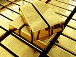 Giá vàng tăng gần 1% phiên đầu tuần