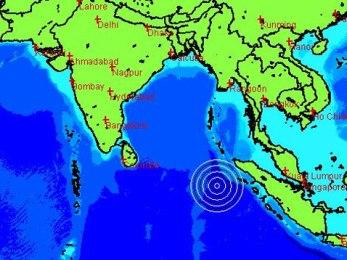 Động đất mạnh ngoài khơi Indonesia, cảnh báo sóng thần toàn Ấn Độ Dương