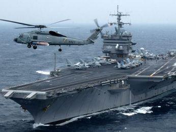 Máy bay do thám Iran chụp hình tàu sân bay Mỹ tại vùng Vịnh