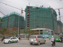 Dự án Mandarin Garden đã thi công đến tầng 18