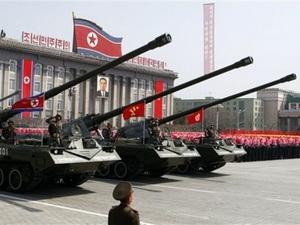 Triều Tiên khoe vũ khí hạng nặng ở lễ duyệt binh