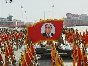 Ảnh Triều Tiên duyệt binh kỷ niệm sinh nhật lãnh tụ