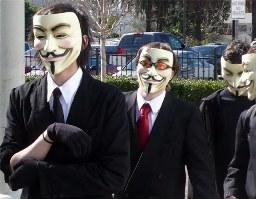 """Nhóm hakcer Anonymousvào """" Top 100 người ảnh hưởng nhất"""" thế giới"""