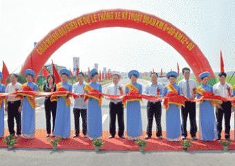 Thông xe kỹ thuật tuyến Quốc lộ 47 đoạn thị xã Sầm Sơn - thành phố Thanh Hóa