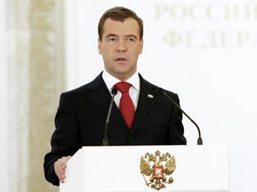 Tổng thống Nga Medvedev tổng kết nhiệm kỳ