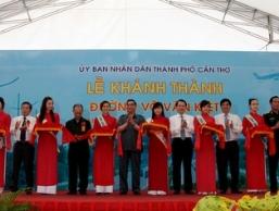 Khánh thành đường Võ Văn Kiệt tại TP Cần Thơ